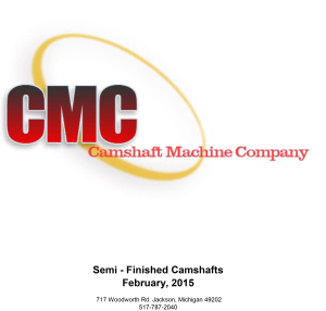 CMC Semi-finished Catalog 2015-01-30-1